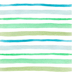 seamless pattern with green lines vector image