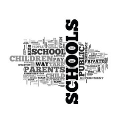 When schools turn into spys text word cloud vector