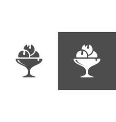 Icecream icon vector image vector image