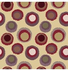 Seamless polka dot motley texture Abstract vector image vector image