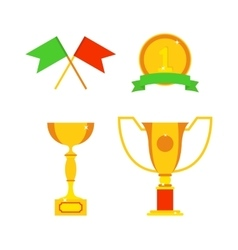 Sports awards vector image vector image