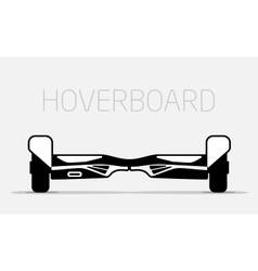 Electric two Wheels Balance Board Hoverboard vector image vector image