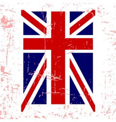 British flag t shirt typography graphics vector image vector image