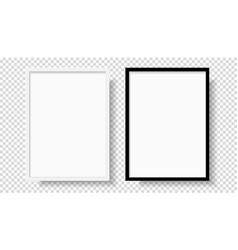 0002-photo realistic black blank and white vector