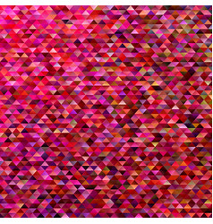 abstract mosaic triangle tile background - trendy vector image