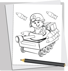 Battle Doodles 2 vector