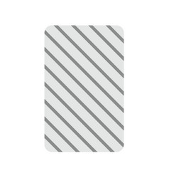 Card backwards vector
