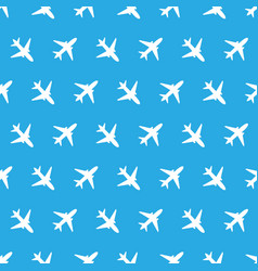 Seamless pattern with color planes for kids vector
