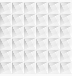 white geometric decorative texture - seamless vector image vector image