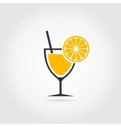 Alcoholic cocktail2 vector image