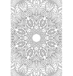 Mandala background Ethnic decorative elements vector