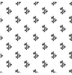 natural bamboo pattern seamless vector image