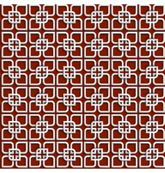 3d white pattern in islamic style vector image
