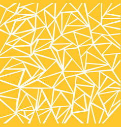 Abstract yellow mustard white geometric and vector