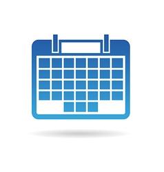 Calendar agenda for 31 days month vector