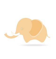 cute male elephant cartoon drawing thailand vector image