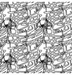 Decorative lines seamless vector image vector image