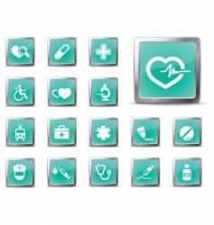 medic glossy vector image