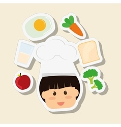 Menu Kids icon design vector image