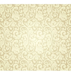 Yellow pattern seamless vector image vector image