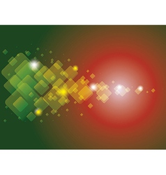 Rectangle background vector image vector image