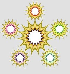 Bright Psychedelic Backdrop vector