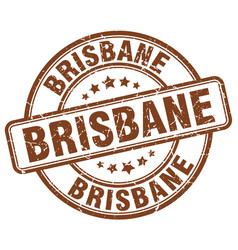 Brisbane stamp vector