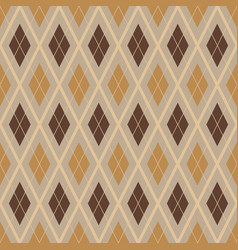 Diagonal rhombus seamless geometric pattern vector