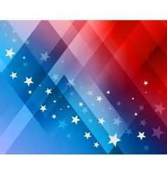 Fireworks background for 4th of July vector