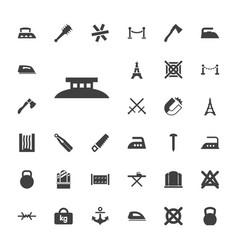 Iron icons vector