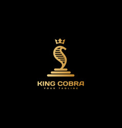 King cobra logo vector