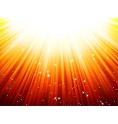Sunburst rays of sunlight tenplate EPS 10 vector
