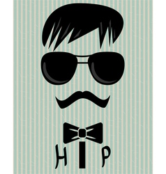 to be hip vector image