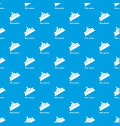 wide spatula pattern seamless blue vector image