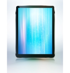 tablet computer abstract backroung vector image vector image