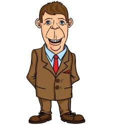 Man office worker vector image vector image