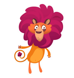 324lion vector image