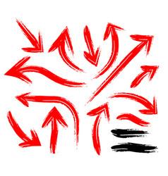 grunge sketch handmade marker vector image