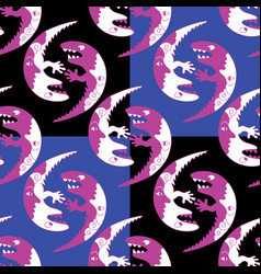 Horribly pattern 5 vector