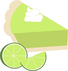 Lime Pie vector