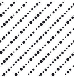 Minimalistic black ink concept seamless pattern vector