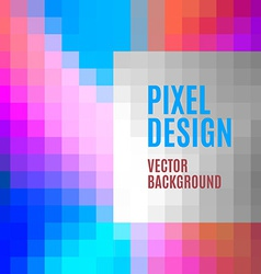 Pixel Template vector