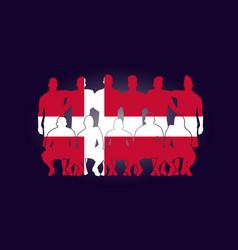 soccer team flag design russia wallpaper sport vector image
