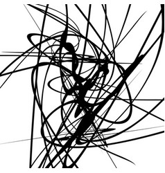 Squiggle dynamic lines curvy lines geometric vector