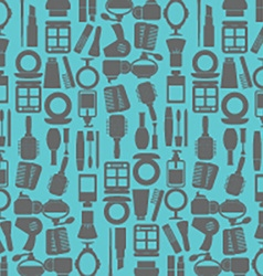 Variety Cosmetics Pattern Background vector