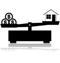 House price vector