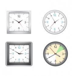 office clocks vector image vector image