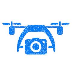 photo drone grunge icon vector image vector image