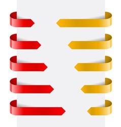 Web Arrows vector image