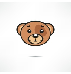 Smiling bear vector image vector image